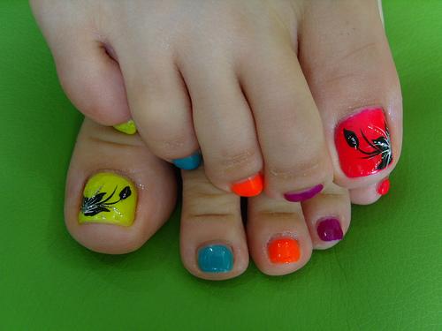 Cute toe nail design for summer : Summer toe nail designs hair styles tattoos and fashion heartbeats